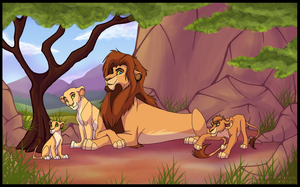 The First King and his Princesses by Lord-StarryFace