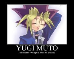 Yugi Muto Motivational Poster by SonicFn27