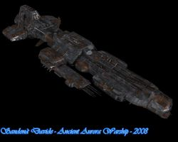 Ancient Aurora Warship 6 by Davide-sd
