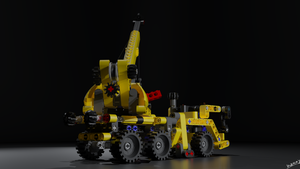 Lego 8067 Mini Mobile Crane by Ineray