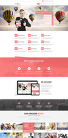 Hellow Free PSD Template by donkeythemes