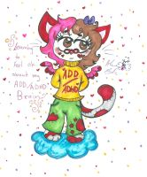 learning to feel ok about my ADD:adhd by Kittychan2005