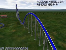 Roller Thriller Re-Dux WIP 9 by Coasterfreak