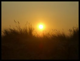 Sunset, Great Yarmouth by Aizxana