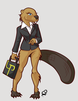 College Beaver Female Type by CrypticManifestation