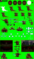 Bagan Sprite Sheet -SG- by Burninggodzillalord