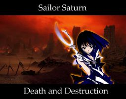 Sailor Saturn by VampireCow