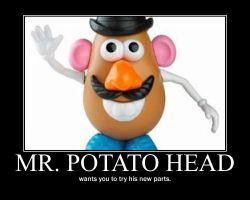 Mr Potato Head by Theif-of-Zydrate