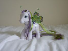 custom my little pony butterfly days 2 by thebluemaiden