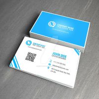 Blue business card by NightPicture