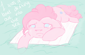 I was a boat drifting out into the sea by colorlesscupcake