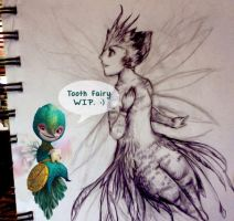 Tooth Fairy WIP by miphi017