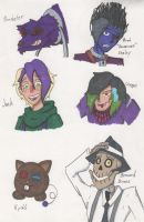 Haunted Library OC Drawings 8 by Deterex525