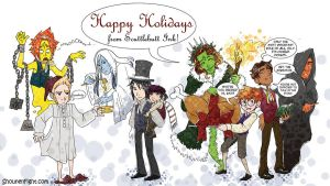 Happy Holidays from MSF by ScuttlebuttInk