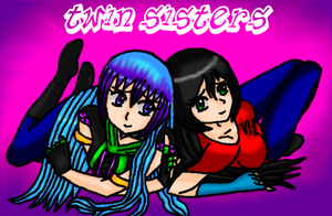 Twin Sisters by MegnRox15
