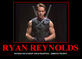 Ryan Reynolds by xxbrasschicaxx