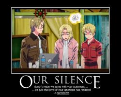 HETALIA: America's Level of Ignorance by Amandasans