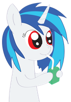 Vinyl Scratch With Juicebox by LumenGlace