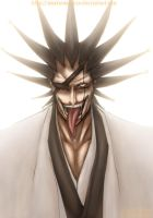 Bleach: - Zaraki Kenpachi - by Amaterasu-kun