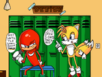 Sonic Boom mini comic part 1 before the trailer by donicx1