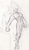 CB 4: The Human Torch by Anairellan