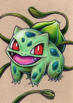 Bulbasaur by bryancollins