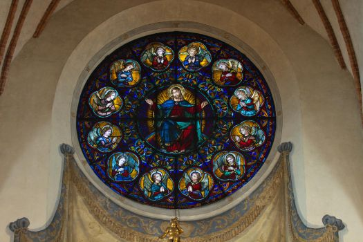 Window in the German Church by parallel-pam