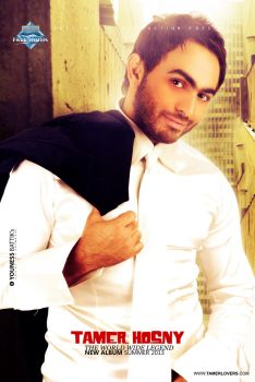 New Poster Tamer hosny 2013 by younessdesigns