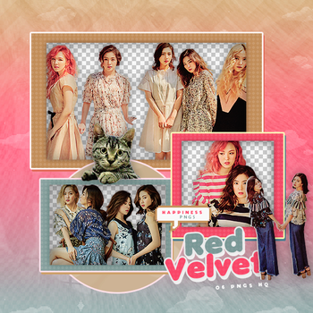 205|Red velvet|Png pack|#07| by happinesspngs