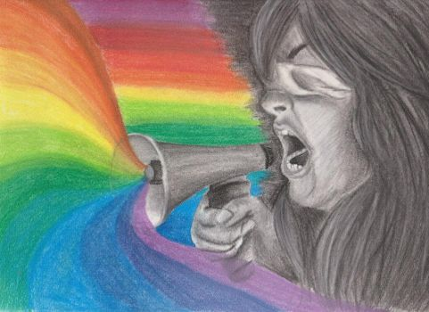 The blind rainbow by Allteriel