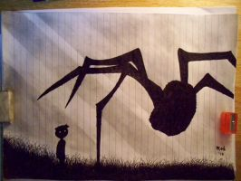 Limbo Spider by utilitarian101