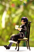 A Peaceful Morning Tea Time by shigeru-chan