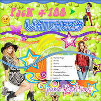 Pack +100 watchers by pame13editions