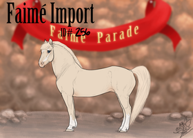 Faime Import 256 by bedfordblack