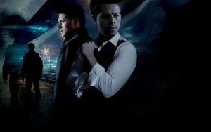 Dean and Castiel by byAlizeya