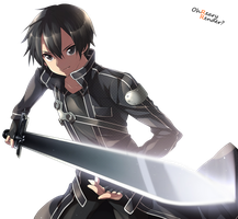 Kirito Render by OhReary