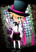 Kagamine Len Bonus Stage by blueyellowgreen