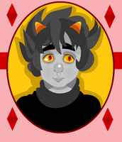 Karkat Portrait by CountlecterMD