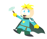 Paladin Butters by DoritoDemon2