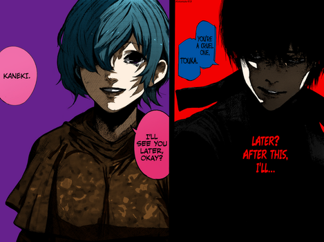 Kaneki and Touka - Tokyo Ghoul:re #72 by Ammar69