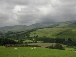 Scottish Countryside by Aki3b