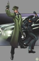 Green Hornet by AdamWithers