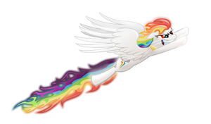 Super Rainbow Dash by Tajarnia