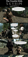 The Trouble with Skyrim: Kingdom Come Part 34 by Sir-Douglas-of-Fir