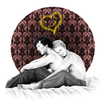 Johnlock - Snuggling Thoughts by RedPassion