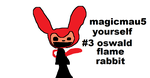 magicmau5 yourself #3 oswald flam rabbit by Deadmau5Nstuff