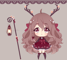 cranberry deer: set price [OPEN] by mahkala