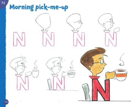 DRAWING CARTOONS LETTER BY LETTER - FUNNY GUY by Christopher-Hart