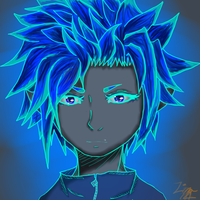 Blue Neon by Lina1562