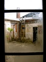 through a penitentiary window by pinyourwings